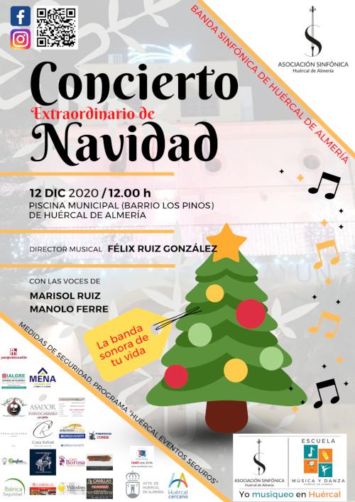 Concierto Ext. Navidad 2020 A. Sinfónica Huércal
