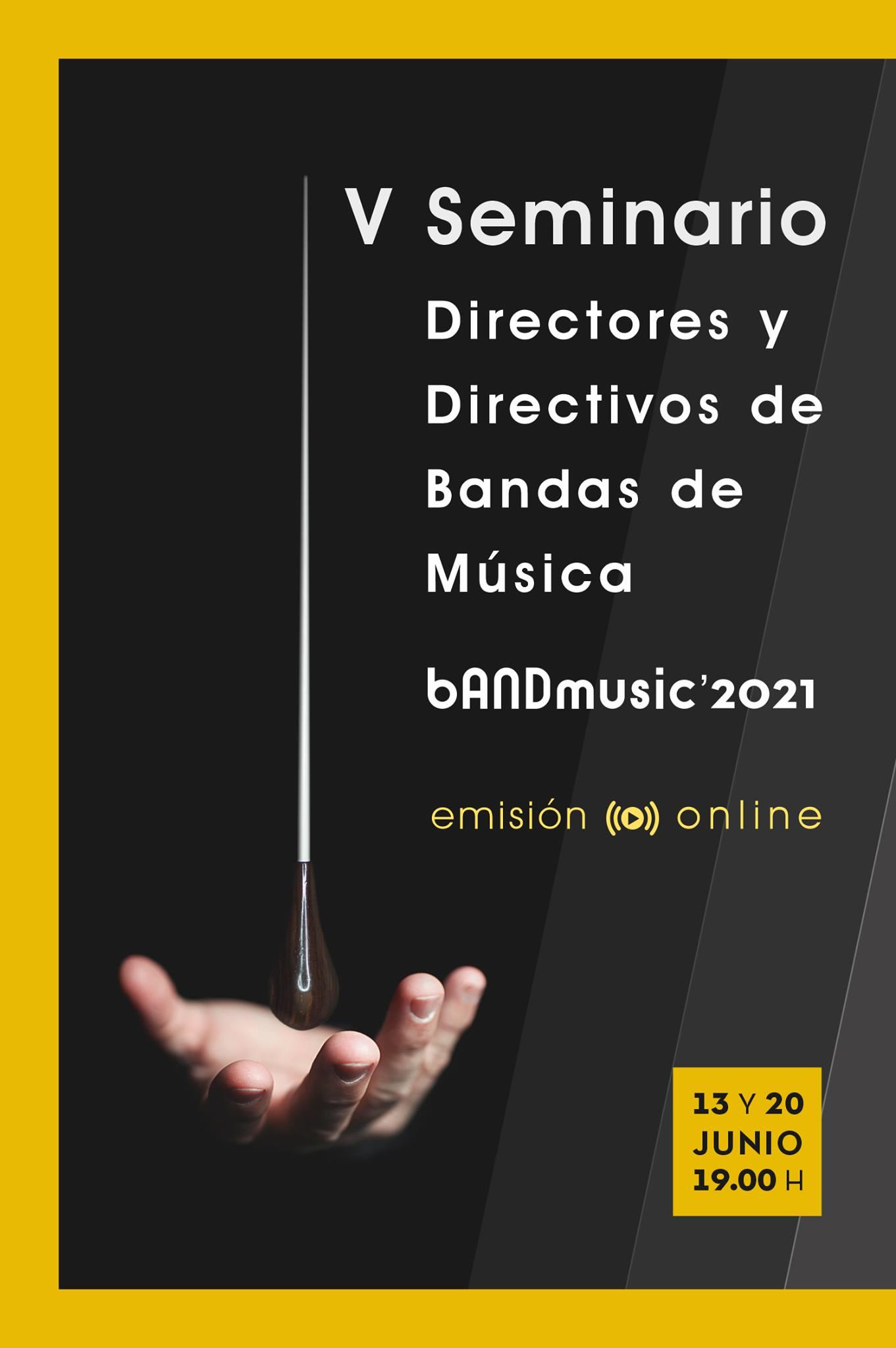 V Seminario de Directores y Directivos de Bandas de Música